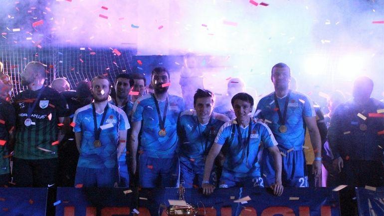 ИНТЕР РАО ЕЭС с 3-й попытки выиграл чемпионат.