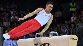Давид БЕЛЯВСКИЙ стал лучшим в упражнениях на коне на чемпионате Европы в Клуже.
