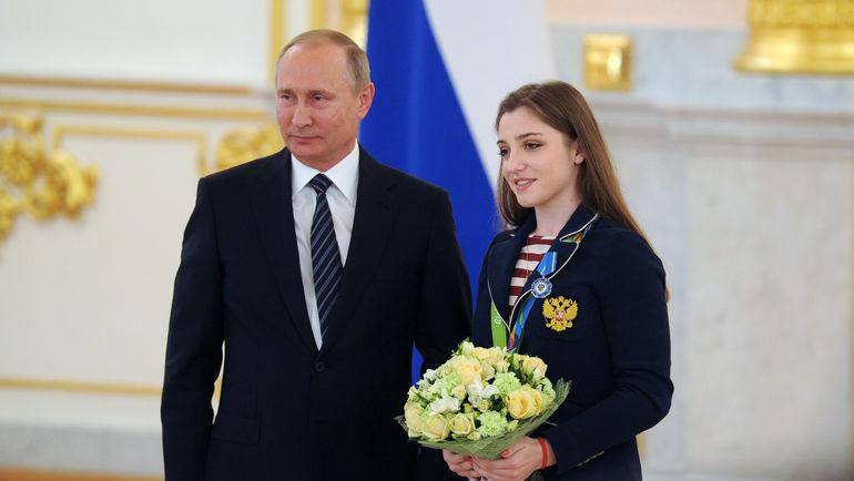 Владимир ПУТИН и Алия МУСТАФИНА. Фото «СЭ»