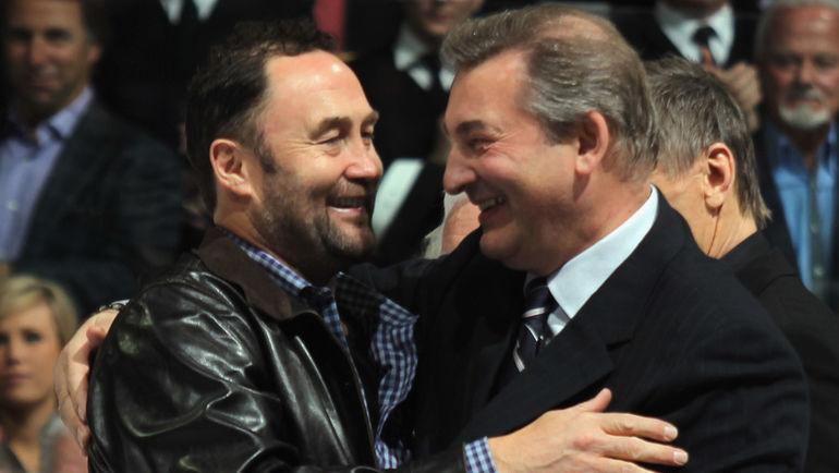 Владислав ТРЕТЬЯК (справа) и Эд БЕЛФОР. Фото AFP