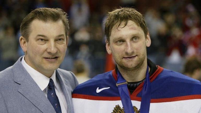 Владислав ТРЕТЬЯК (слева) и Николай ХАБИБУЛИН.