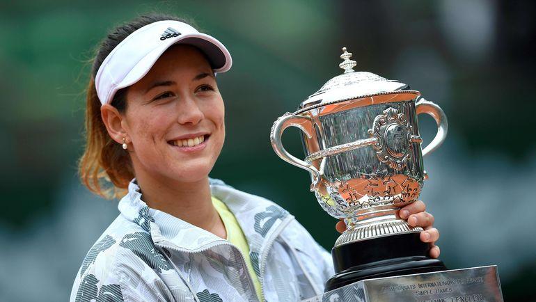 4 июня 2016 года. Париж. Гарбинье МУГУРУСА - чемпионка Roland Garros. Фото AFP