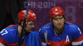 Александр РАДУЛОВ (слева) и Александр ОВЕЧКИН.
