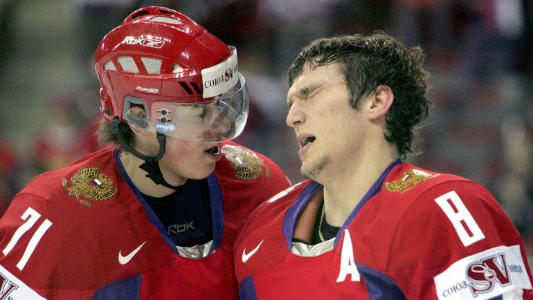 Евгений МАЛКИН и Александр ОВЕЧКИН. Фото Reuters