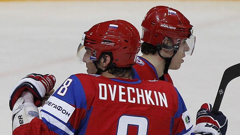 """""""Вашингтон"""" Александра ОВЕЧКИНА и """"Питтсбург"""" Евгения МАЛКИНА встретятся во втором раунде плей-офф НХЛ. Фото Reuters"""
