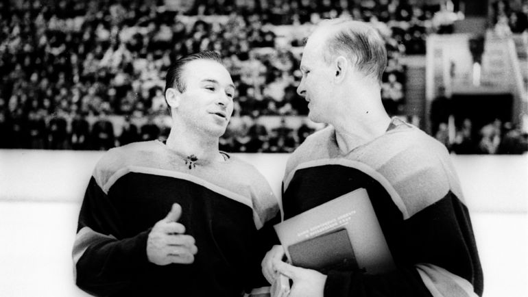 Вениамин АЛЕКСАНДРОВ (справа) и Константин ЛОКТЕВ. Фото Олег НЕЕЛОВ