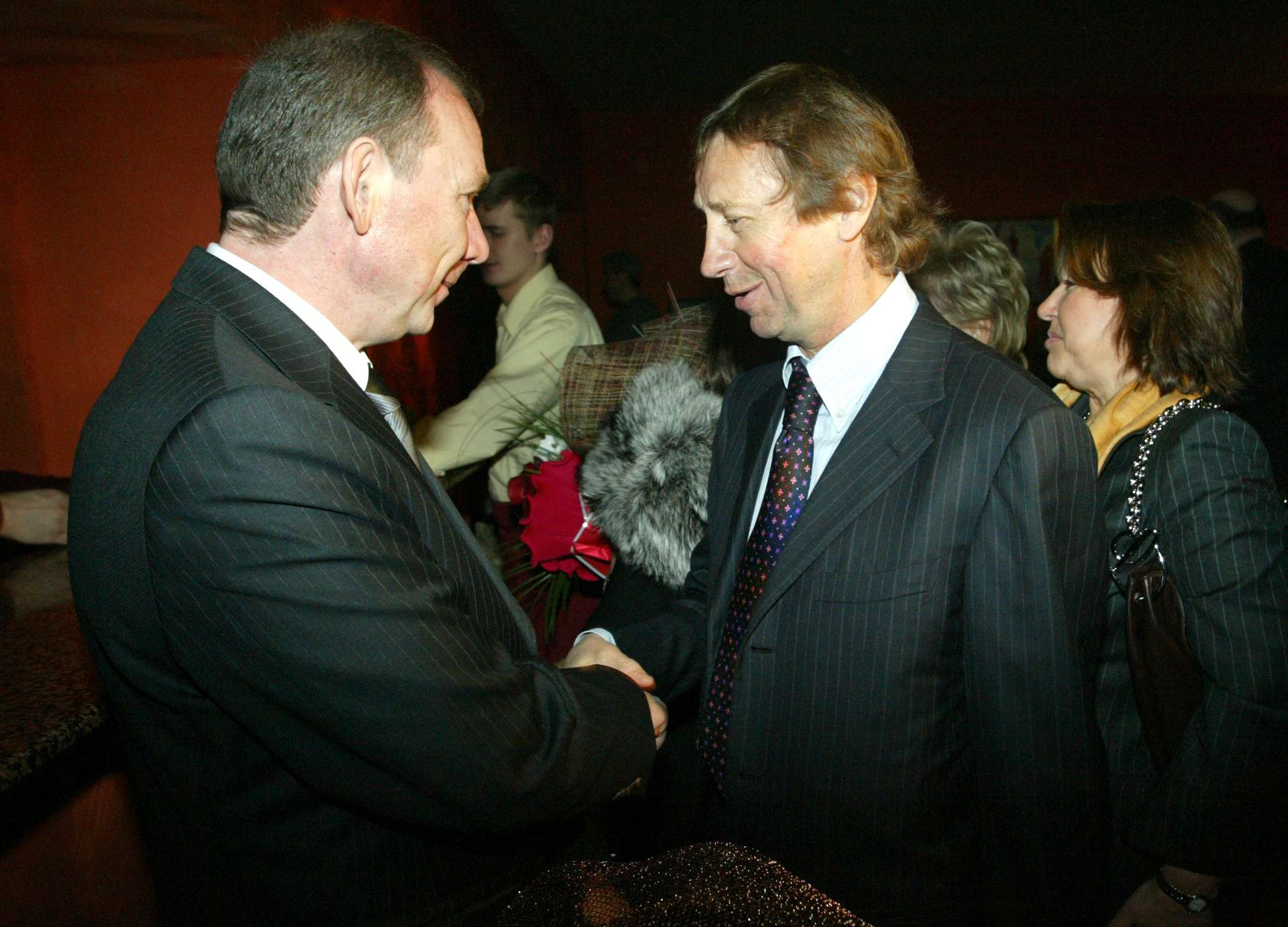 Олег Романцев и Юрий Семин