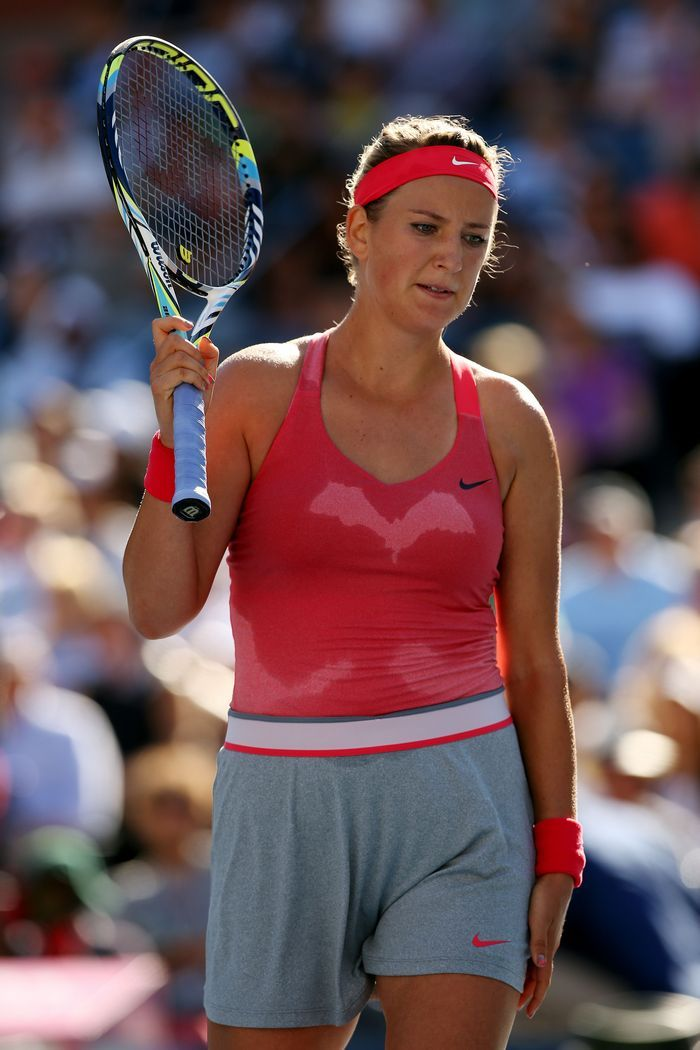 Засветы тенисисток под юбкой