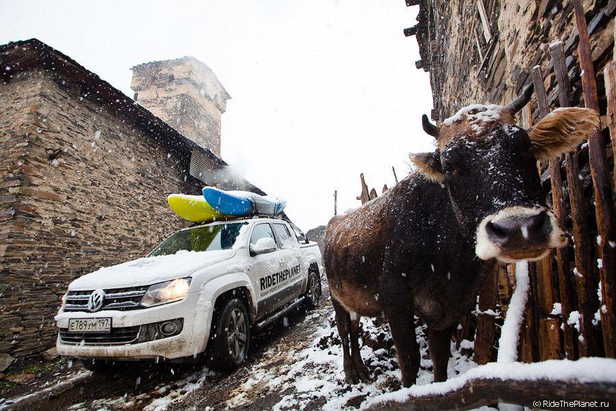 Ride The Planet в Грузии: Верхняя Сванетия
