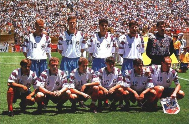 Сборная россия чемпионат мира по футболу 1994