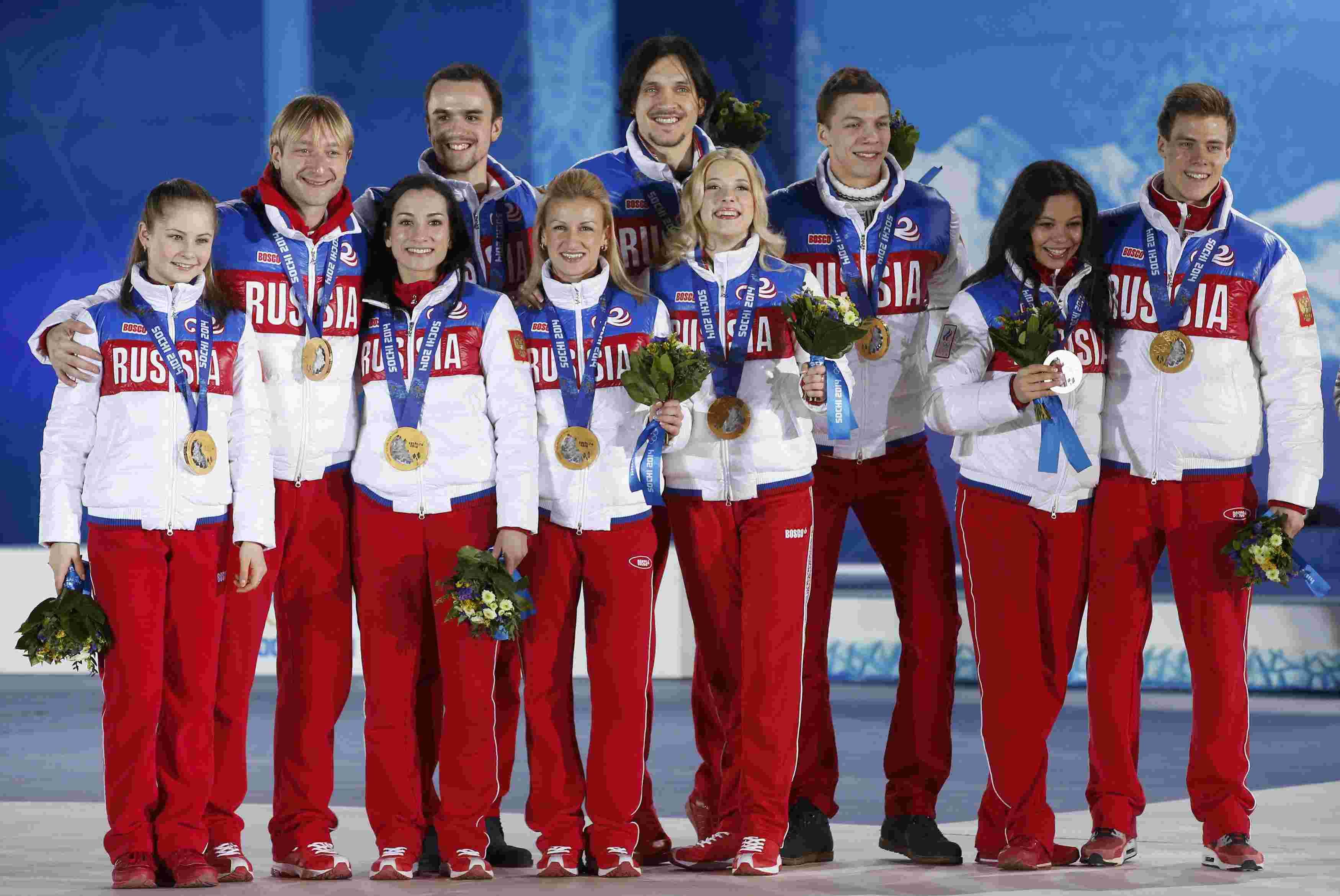 Все российские чемпионы Олимпиады в Сочи ОЛИМПИАДА Сочи  СОЧИ 2014