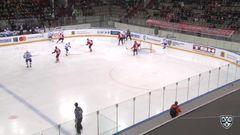 Удаление. Земченко Игнат (Металлург Нк) удален на 2 минуты за опасную игру высоко поднятой клюшкой