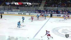 Гол. 1:1. Ничушкин Валерий (ЦСКА) сравнивает счет матча в большинстве
