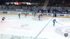 Удаление. Ничушкин Валерий (ЦСКА) и Артюхин Евгений (Сибирь) удалены на 5 минут за драку