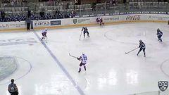 Гол. 0:1. Коледов Павел (Локомотив) открывает счет матча в большинстве