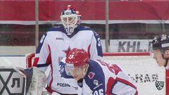 Удаление Йонас Энлунд (ЦСКА) наказан малым штрафом за задержку клюшкой