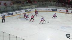 Гол. 2:0. Андрей Первышин (Металлург) здорово сыграл на добивании