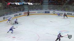 Удаление. Егор Мартынов (Авангард) удалён на 2 минуты за опасную игру высоко поднятой клюшкой