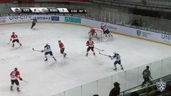 Удаление. Марцинко Томаш (Куньлунь РС) за атаку игрока не владеющего шайбой.
