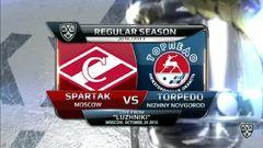 Спартак - Торпедо 3:0