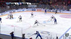 Гол. 1:0. Евгений Дадонов (СКА) открыл счёт, отличившись в большинстве