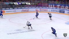 Гол. 1:0. Евгений Кетов (СКА) распечатал ворота хорватской команды