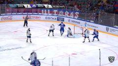 Гол. 2:0. Илья Ковальчук (СКА) удачно подправил шайбу в ворота