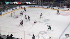 Гол. 1:0. Андрей Чибисов (Ак Барс) открыл счёт в матче