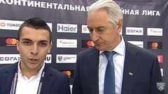 Интересный момент. интервью Зинэтула Билялетдинов (Ак Барс)
