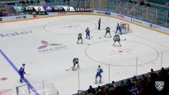 Гол. 1:0. Савченко Роман (Барыс) от синей пробил вратаря