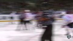 Гол. 1:1. Линус Виделль (Динамо) оказался самым расторопным на пятаке