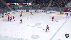 Гол. 0:1. Денисов Денис (ЦСКА) прошил вратаря мощным броском