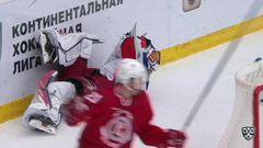 Витязь - ЦСКА. Лучшие моменты первого периода