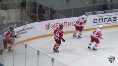 Удаление. Дыбленко Ярослав (Спартак) за грубость.