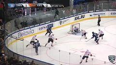 Гол. 2:0. Китаров Александр (Динамо Мн) добил с нескольких попыток