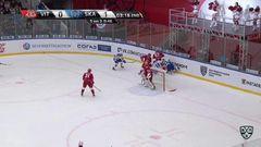 Гол. 0:2. Илья Ковальчук (СКА) неотразимо щёлкнул в касание