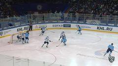 Гол. 3:0. Степан Санников (Сибирь) не оставил шансов голкиперу сочинцев