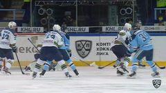 Сибирь - ХК Сочи. Лучшие моменты второго периода