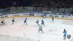 Удаление. Виталий Меньшиков (Сибирь) наказан малым штрафом за подножку