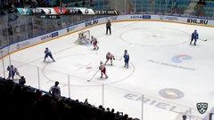 Гол. 4:0. Савченко Роман (Барыс) от синей в угол