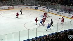 Гол. 0:2. Войнов Вячеслав (СКА) с правого круга вбрасывания