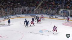 Гол. 0:2. Кугрышев Дмитрий (ЦСКА) бросил с кистей