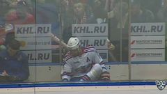 Удаление. Ковальчук Илья (СКА) за удар клюшкой.