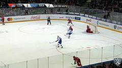 Удаление. Козун Брэндон (Локомотив) за задержку клюшкой.