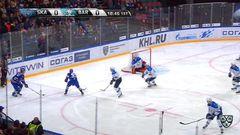 Гол. 1:0. Евгений Дадонов (СКА) открыл счёт в матче