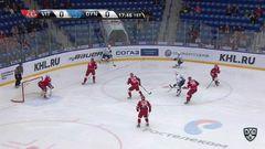 Гол. 0:1. Александр Рыбаков (Динамо) удачно бросил от синей линии