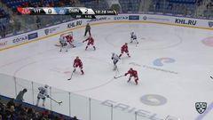 Гол. 0:3. Евгений Ковыршин (Динамо) реализовал большинство