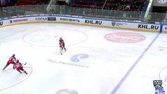 Гол. 1:0. Петров Кирилл (ЦСКА) из под защитника низом