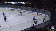 Удаление. Брюквин Владимир (Динамо Мск) удален на 2 минуты за подножку