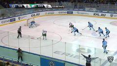 Удаление. Кемппайнен Йоонас (Сибирь) удален на 2 минуты за атаку игрока, не владеющего шайбой